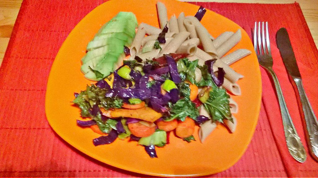 Chrupiące , pyszne i zdrowe warzywa pieczone