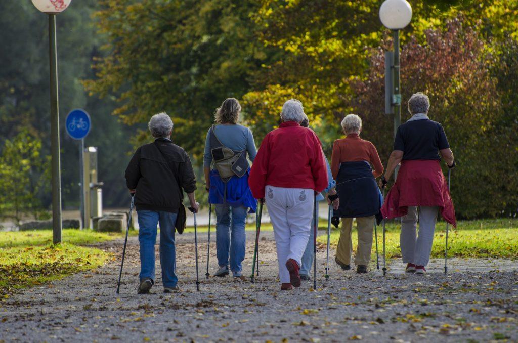 dlaczego warto chodzic z kijkami, czyli nordic walking jest cool